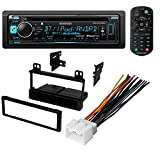 CAR CD STEREO RECEIVER + DASH INSTALL MOUNTING KIT + WIRE HARNESS FORD LINCOLN MERCURY