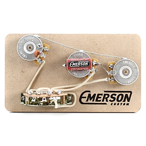 Emerson Custom Strat 5-Way Blender Prewired Kit