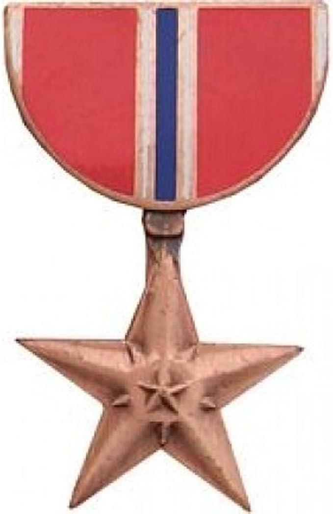 BRONZE STAR MEDAL MILITARY MEDAL LAPEL PIN