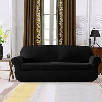 Amazon Com Chunyi Jacquard Sofa Cover 1 Piece Polyester