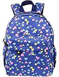 Imiflow Toddler Backpack Kids Preschool School Bags Purses for Baby Girl and Boy