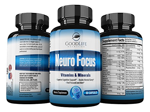 Premium Nootropic Supplement GoodLife Nutrition product image