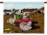 NOVICA ''Shepherd Girls Of Colca'' Wool Tapestry