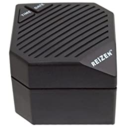 Reizen 3 in 1 Talking Super Cube Clock for the Visually Impaired