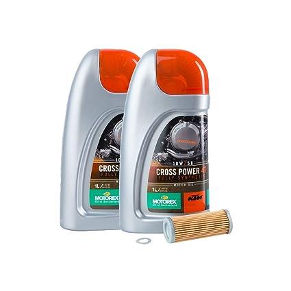 Amazon com: Tusk 4-Stroke Oil Change Kit KTM Motorex Cross