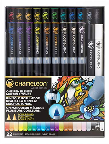 Chameleon Art Products, Chameleon 22-Pen Deluxe Set