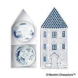 moomin ~ amabro SOMETSUKE Amaburo dyed [5 piece set ] Moomin porcelain made ??in Japan