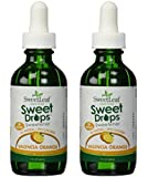 Wisdom Natural SweetLeaf Liquid Stevia (Valencia Orange (Set of 2))