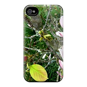 Quality MeSusges Case Cover With Magnolia Liliflora Desr Nice Appearance Compatible With Iphone 4/4s