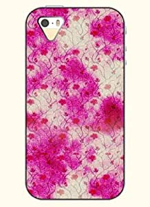 SevenArc Phone Case design with Retro Flower Pattern for Apple iPhone 5 5s 5g wangjiang maoyi