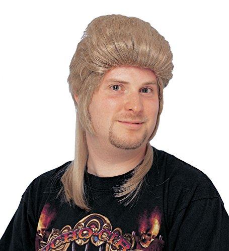 Costume Culture Men's Mullet Wig, Honey Blonde, One Size -