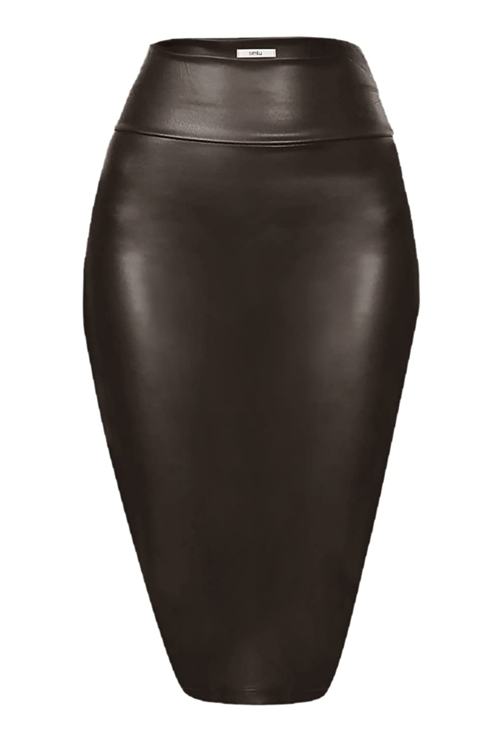 c7b9a914ec Made in USA COMFORT - These Knee Length Pencil Skirts for Women are  Composed of 90% Polyester, 10% Spandex. The stretchy fabric and wide waist  band of these ...