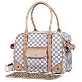 BELLAMORE GIFT Dog Carrier Bag Puppy Kitten Chihuahua Yorkie Bag Vet Bunny Purse Foldable 14.2x7.1x10.6 inches