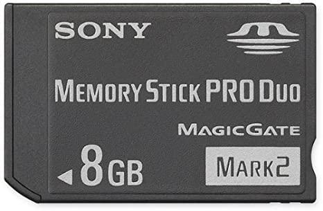 Sony 2 GB Memory Stick PRO Duo Flash Memory Card MSMT2G