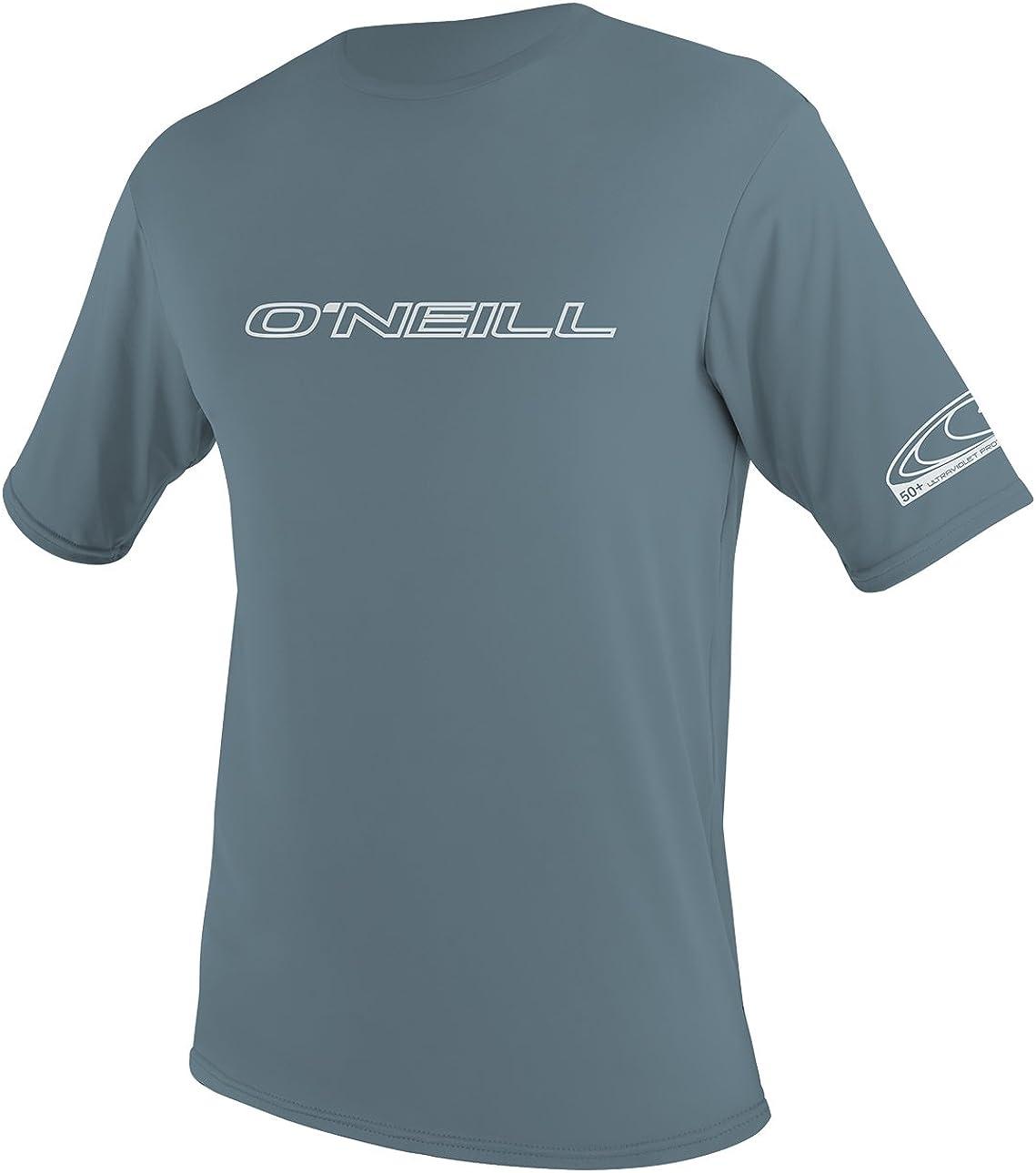 O'NeillMen's Basic Skins UPF 50+ Short Sleeve Sun Shirt
