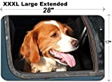 MSD Large Table Mat Non-Slip Natural Rubber Desk Pads Image 23054226 Yellow Dog Looking from The car Window