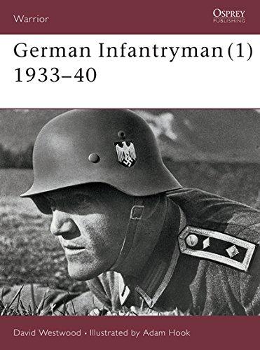 German Infantryman  1  1933 40  Warrior Band 59