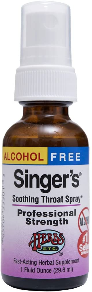 Singer's Saving Grace Professional Strength - Non-Alcohol