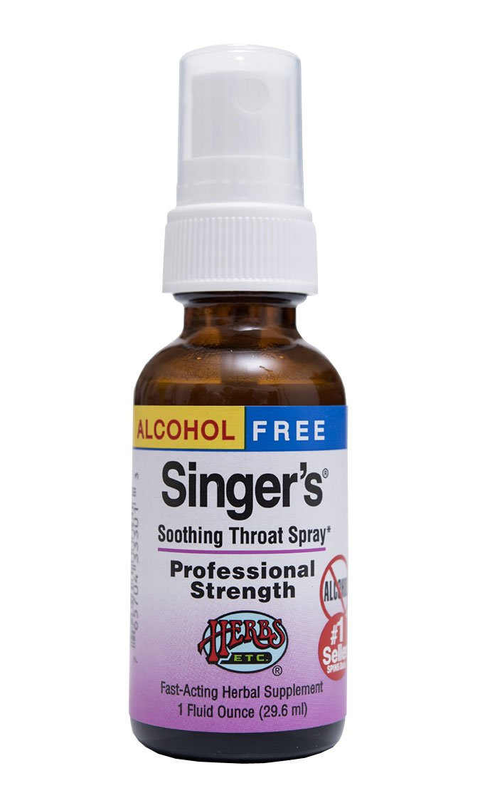 Singer's Saving Grace Professional Strength - Non-Alcohol by Herbs Etc.