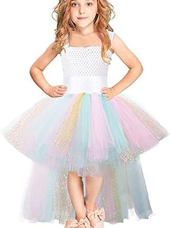 Odziezet Falda de Tutu Princess Halloween Niña Disfraz Traje ...