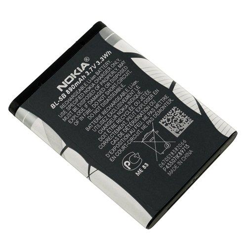 amazon com nokia original battery nokia bl5b bl 5b li ion 3 7v rh amazon com