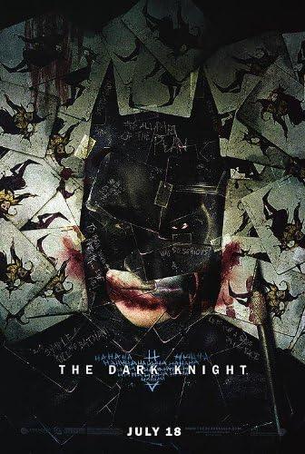 Amazon.com: THE DARK KNIGHT MOVIE POSTER 1 Sided ORIGINAL JOKER CARDS 27x40  BATMAN: Prints: Posters & Prints