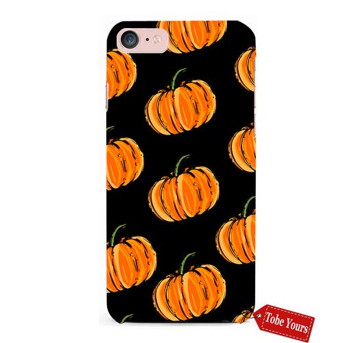 Tobe Yours 3D Phone Case Halloween Fall Pumpkins Durable Protective Anti-Scratch iPhone 5/5s/SE Apple Phone Case Cover -