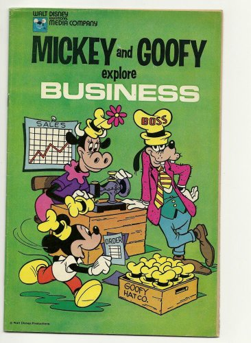 - Dell Walt Disney Mickey and Goofy Explore Business 1977
