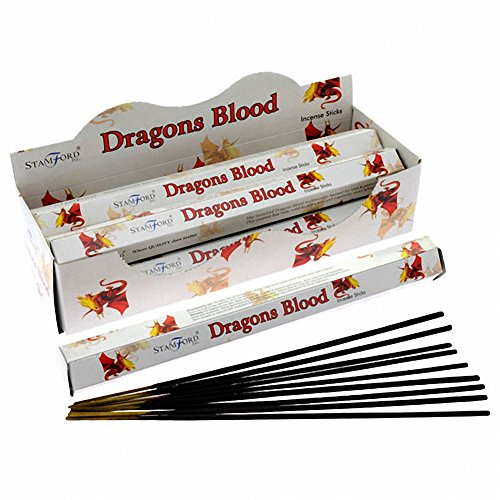 Stamford Dragons Blood Incense Sticks (Whole Case) by Puckator