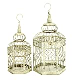 Best Woodland Imports Bird Cages - Benzara Comfortable Home Stay Metal Bird Cages Review