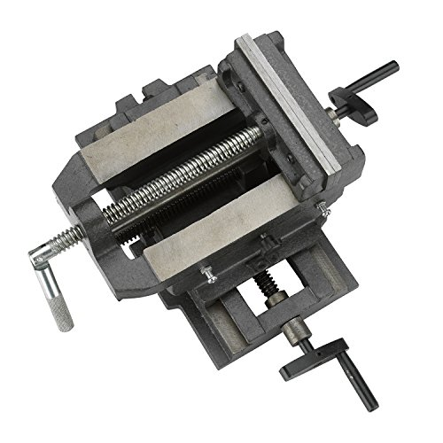 [해외]Hiltex 55091 4 크로스 슬라이드 바이스, 헤비 듀티 | /Hiltex 55091 4  Cross Slide Vise, Heavy Duty | 2-Way X Y Axis Drill Press | For Milling, Machinists