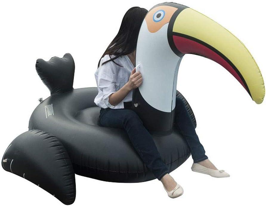 Amazon.com: jiumoji gigante inflable Toucan juguetes piscina ...