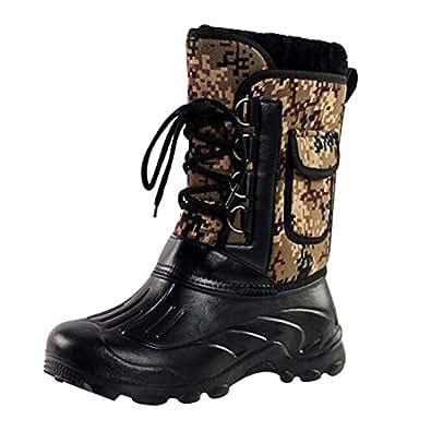 Amazon.com | Eagsouni Men's Waterproof Snow Boot Winter