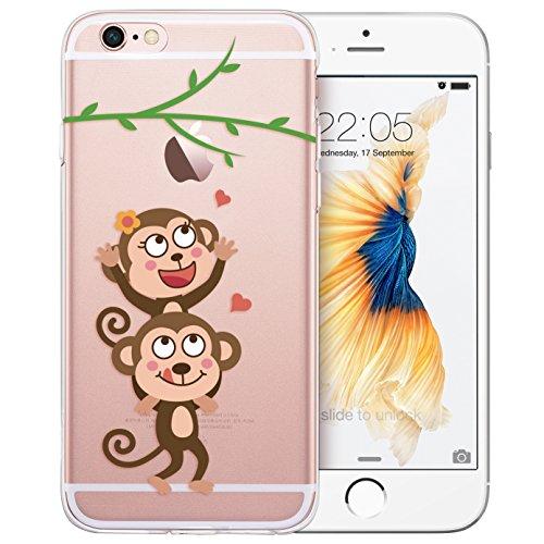 iPhone ESR Silicone Absorbent Love Monkeys