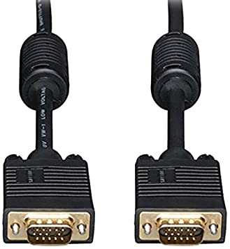 eDragon 25 ft VGA Male to Female, Black Extension Cable, (ED706012) Margin Mart