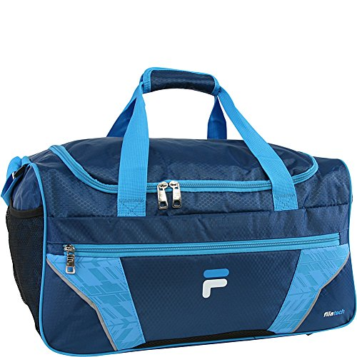 Price comparison product image Fila Drone Sm Travel Gym Sport Duffel Bag, Navy/Blue