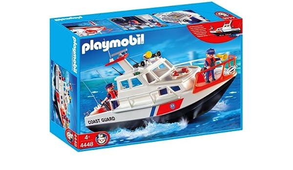Playmobil 626098 - Puerto Bote Guardacostas: Amazon.es: Juguetes y ...
