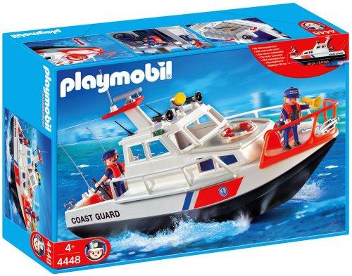 Playmobil Coast Guard Boat Set