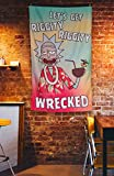 Calhoun Rick and Morty Indoor Tapestry Hanging Wall Banner