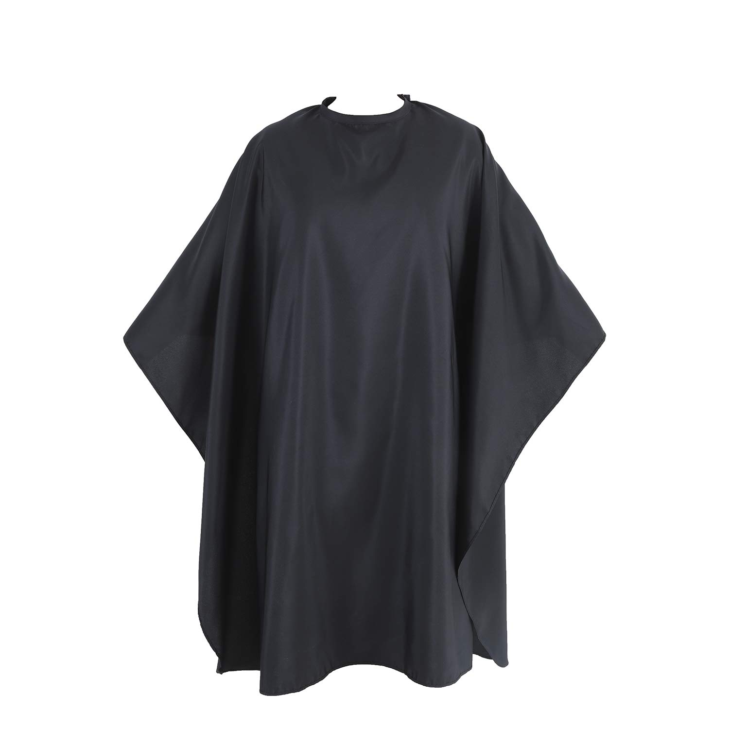 YELEGAI Professional Barber Cape,Lightweight Breathable Polyester Hair Cutting Cape,Haircut Cape with Adjustable Neckline, Salon cape for Cutting,hairdressing,Makeup and More,56x63 inches(Black): Beauty