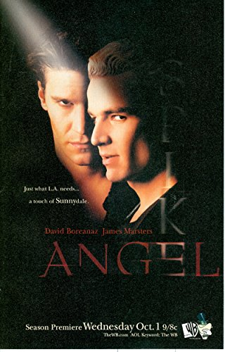 ANGEL TV Show: The WB Season Premier with Spike - GREAT looking Photo Print Ad