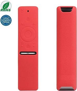 Estuche Protector de Silicona para Samsung, Houkiper Samsung TV Controlador Remoto Estuche Protector para Samsung HDTV Control Remoto BN59-01241A BN59-01242A BN59-01292A (Pack of 1X, Rojo): Amazon.es: Electrónica