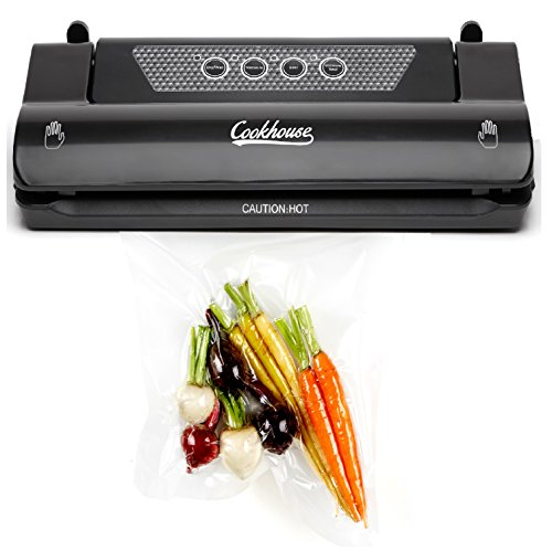 Cookhouse Vacuum Sealer Food Saver Machine, For Sous Vide, Baby, Dry and...