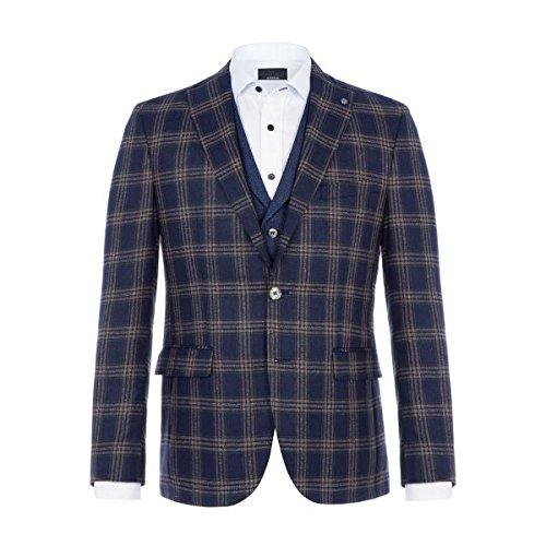 [バムラー] メンズ ジャケット&ブルゾン Dolf Checked Silk Jacket [並行輸入品] B07F34YP1D 40s