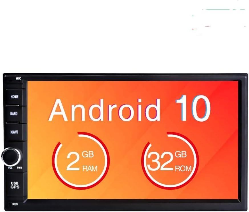 Freeauto Android 9.0 2 DIN Autoradio Universal, GPS Navegador Radio para Coche estéreo Doble soporta Bluetooth, Control Volante, WiFi, Mirror-Link, Subwoofer, USB, AV-out: Amazon.es: Coche y moto