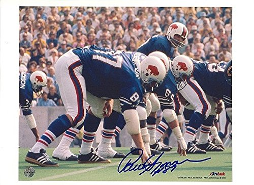 Autographed Paul Seymour Buffalo Bills 8x10 - Buffalo Paul Seymour