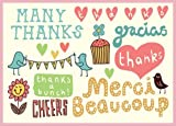 Kate Sutton Many Thanks Parcel Thank You Notes