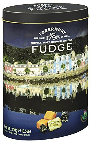 Whisky Tobermory Malt - Gardiners of Scotland Tobermory Single Malt Scotch Whisky Fudge, 10.5-Ounce by Gardiners of Scotland