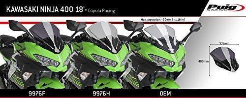 Cupula Racing Kawasaki Ninja 400 18-19 Carbono Puig 9976c ...