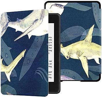 Estuche Kindle Paperwhite de 10 Gen Tiburones Variedad Blue Tiger ...